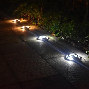 Image 4 - Solar LED Dock Path Deck Road Stud Maker Light Waterproof Security Lights Lamp Outdoor Driveway Pathway Yard  Garden Step Lamp