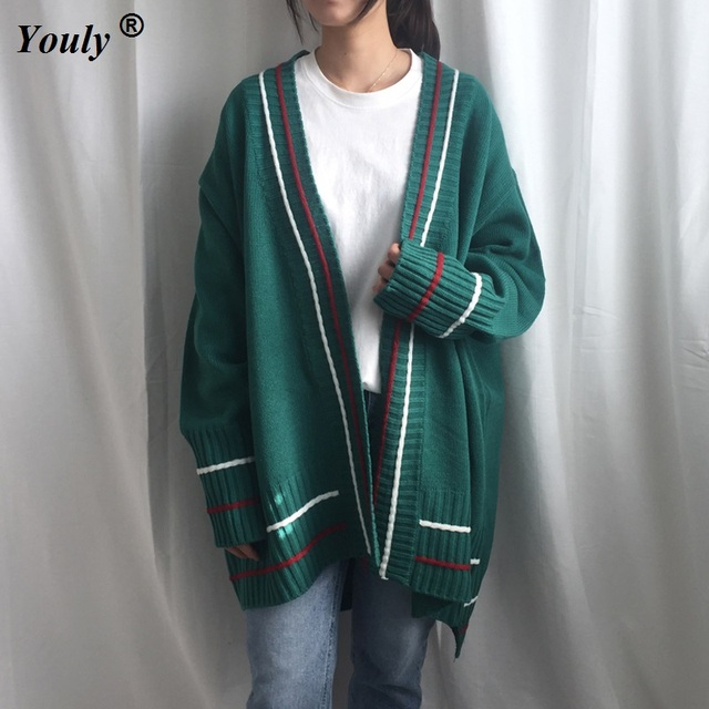 Aliexpress.com : Buy Casual knitting long cardigan sweater female ...