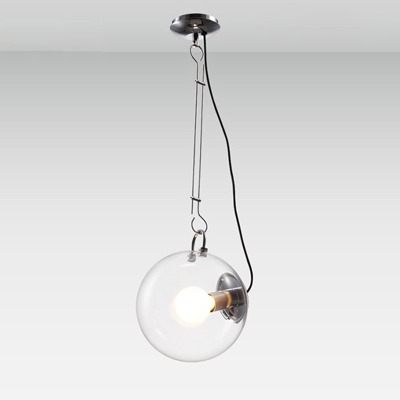 Modern Soap Bubble Pendant Lights Creative Fashion Home Decoration Lighting Clear Glass Pendant Lamps E27 Bulbs Diameter 25cm modern pendant lights kitchen for home decoration lighting bar elegant light postmodern golden celling lamp clear glass lamps