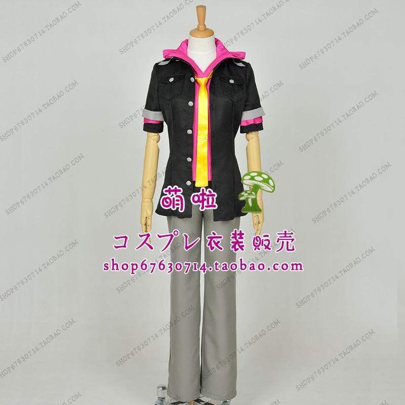 Free Shipping Loki Laevatein Cosplay costume Summer Uniform of Kamigami no Asobi