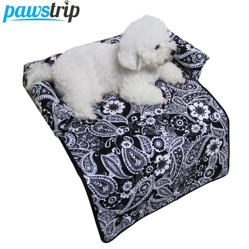 3 kleuren bloemenprint hondenmand bedden multifunctionele - Producten voor huisdieren