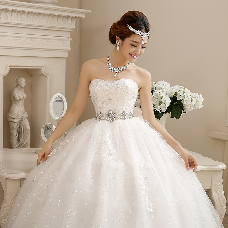 LAMYA Customize Pregnant With Crystal Wedding Dresses 2018 Fashion ...