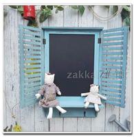 Украшение для дома ZAKKA средиземноморский сад бар кофе магазин декоративные настенные гобелены декоративная настенная доска ложное окно