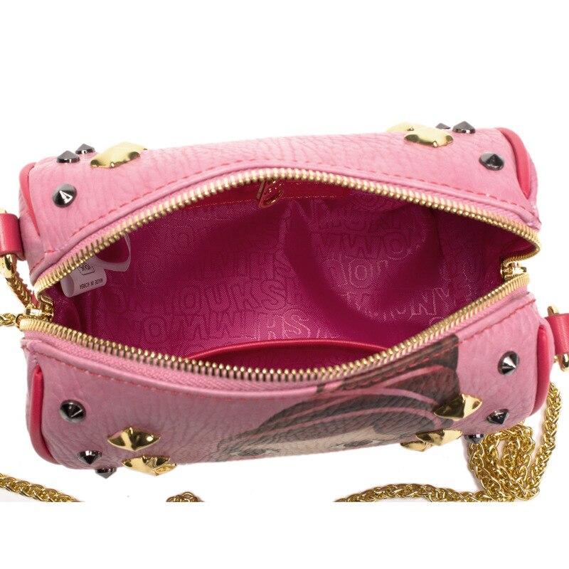 70d1290cca89 South Korea youk shim won fashion rivet female Boston shoulder bag mini  cute gorjuss nifty portable casual pillow messenger bag -in Crossbody Bags  from ...
