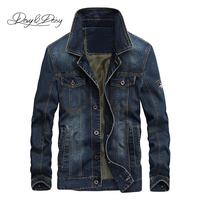 DAVYDAISY 2019 New Arrival Denim Jacket Men Washed Cowboy Stand Collar Hip Hop Ripped Street Designer Men Jeans Coat DCT 231