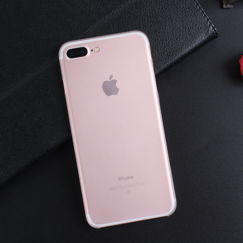 100 шт./лот тонкий пластиковый прозрачный чехол для iPhone 7 7 Plus кристалл прозрачный Назад кожа В виде ракушки телефон чехол для Iphone 7 7 Plus
