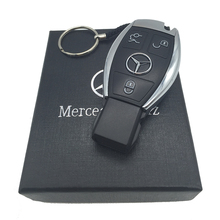 New USB Flash Drive 8GB For Mercedes-Benz The S-Class Car Keys Shape 32GB 64GB Memory Card Top Quality Pen Drive 16GB Gift box.