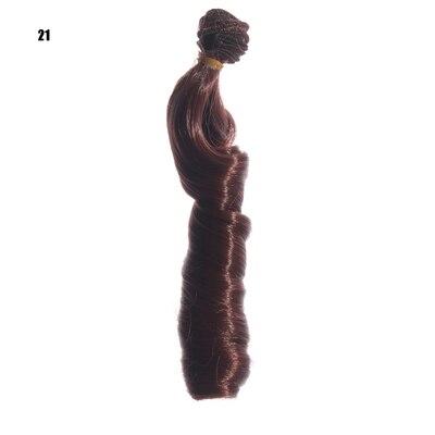 1pcs 15cm*100CM doll Wigs/hair Curls Hair for dolls 1/3 1/4 BJD/SD diy Modeling Brown Blonde Black Milk