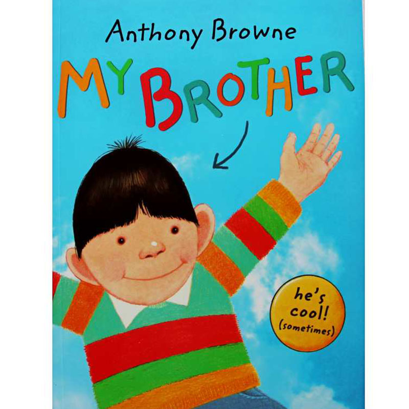 My Brother By Anthony Browne Educational English Picture Book Learning Card Story Book For Baby Kids Children Gifts   - title=