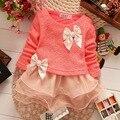 Anlencool 2017 Детская одежда высокого качества детская одежда весной новые Корейские девушки dress sweet organza dress woven baby dress