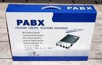 Sistema de teléfono vinteleom CS208 swtich/office PBX con 2 líneas de cable de entrada y 8 extensiones de salida