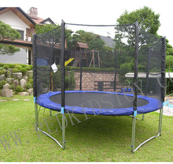 Gymnastic Trampolin Für Kinder 8ft Mit Leiter HZ-8FT