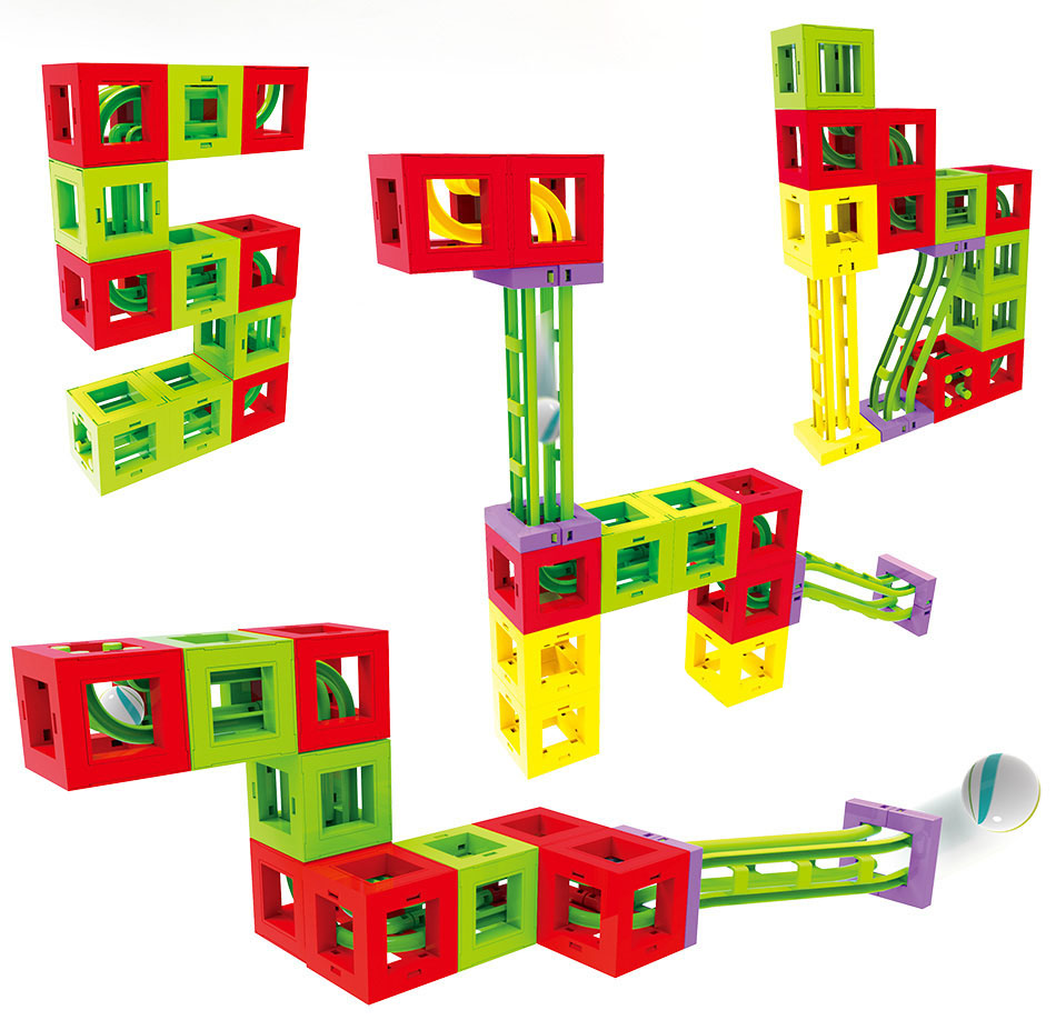 11 magnetic blocks mini