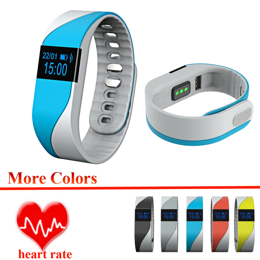 M2S Smart Band Bracelet Heart Rate Monitor Call Reminder Pedometer Calorie Sleep Remote Camera OLED Display