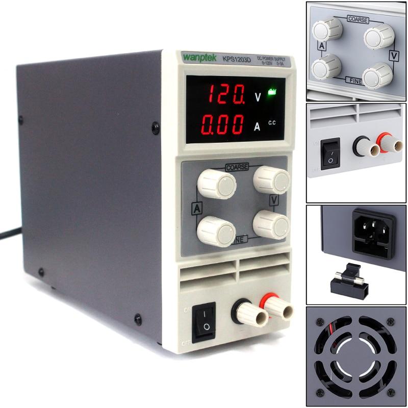 dc banco de alimentação transformadores 3 display