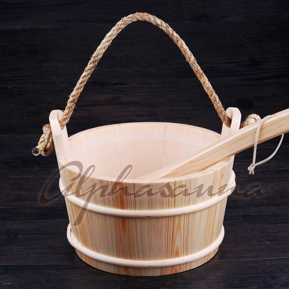 Free shipping  4L Core grip Pine Bucket and Ladle combined with Insert  Wholesaler, Sauna accessories factory pricesFree shipping  4L Core grip Pine Bucket and Ladle combined with Insert  Wholesaler, Sauna accessories factory prices