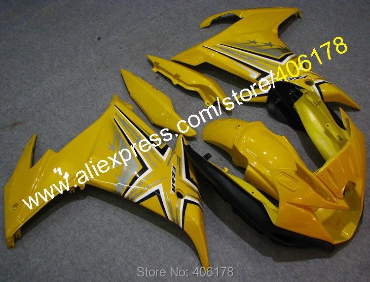 Hot Sales,fz6r accessories for YAMAHA FZ6R FZ 6R FZ-6R 2009-2013 fairing high grade yellow black motorcycle bodywork fairing