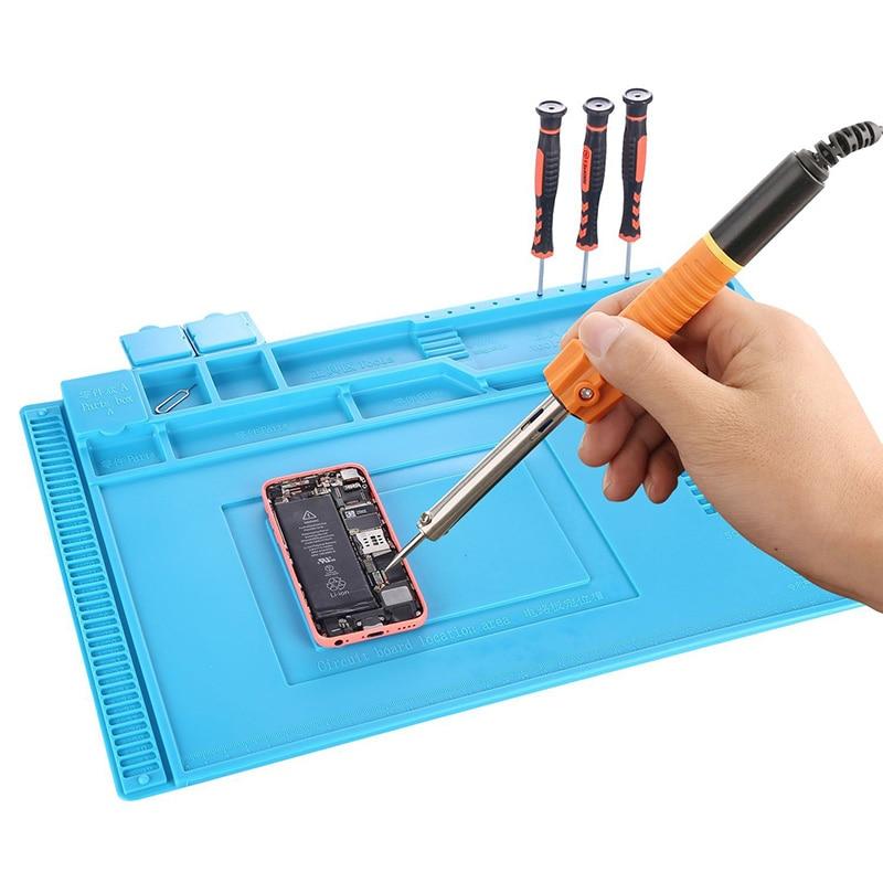 Magnetinio silikono padėklo litavimo platformos stalo mobiliųjų - Įrankių komplektai - Nuotrauka 6