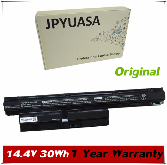 7XINbox 14.4V 30Wh 2150mAh Original PC-VP-WP126 PC-VP-WP128 OP-570-77005 Laptop Battery For NEC PC-VP-WP126 PC-VP-WP128
