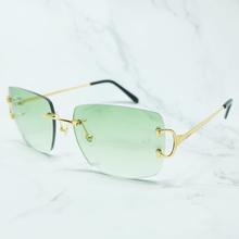 Pink Sunglasses Designer Big Square Men Luxury Carter Fashion Woman Vintage Shades Green Sunglass Blue