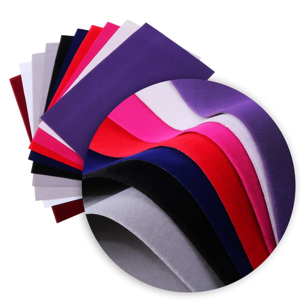 David Accessories 20*34cm  Faux Artificial Velvet Fabric Hair Bow Diy Decoration Crafts 1piece,1Yc4431