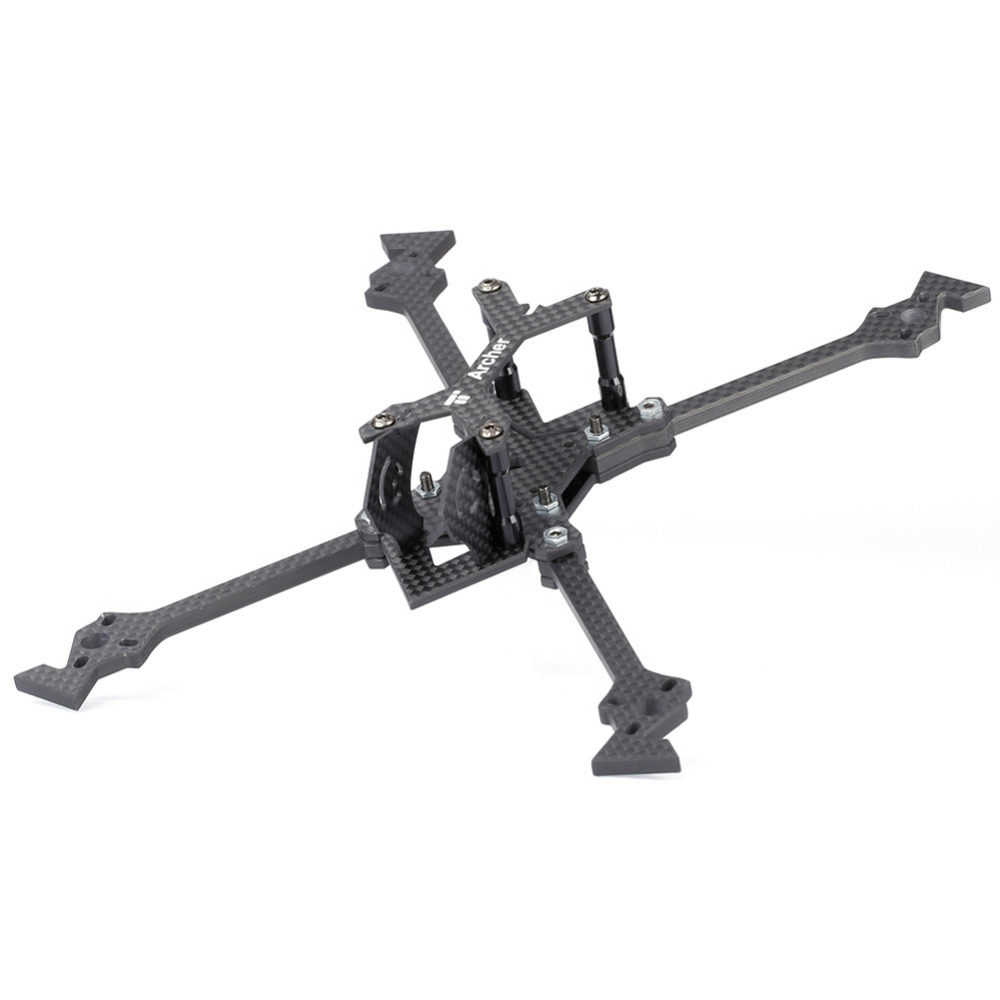 iFlight carbon Fiber Archer X5 V2 5inch 218mm FPV Frame with 5mm arm compatible dalprop 5040