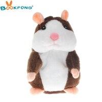 Hot Talking Hamster Plush Toy Cute Speak Talking Sound Record Hamster Talking Toys For Children Kids