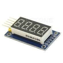 4 Бит Цифровой Трубки СВЕТОДИОДНЫЙ Дисплей Модуль Четыре Серийный для Arduino 595 Драйвер