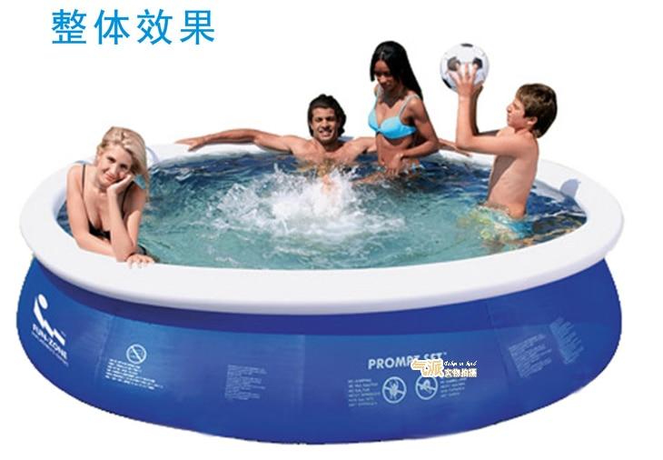 Grand adulte en plein air famille piscine ultralarge épaississement cercle enfant intérieur gonflable piscine - 4