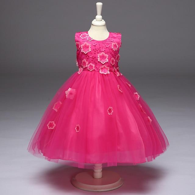 Çocuk abiye elbise çiçek  tasarım,çocuk elbise modelleri ,çocuk elbise,kız çocuk elbise