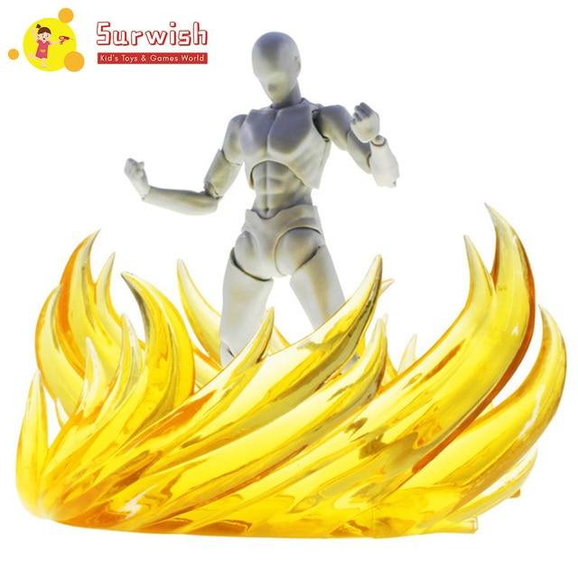 Modèle de scène de flamme Surwish décoration deffet de feu pour modèle Gundam-Action verte et figurines de jouet 7 couleurs