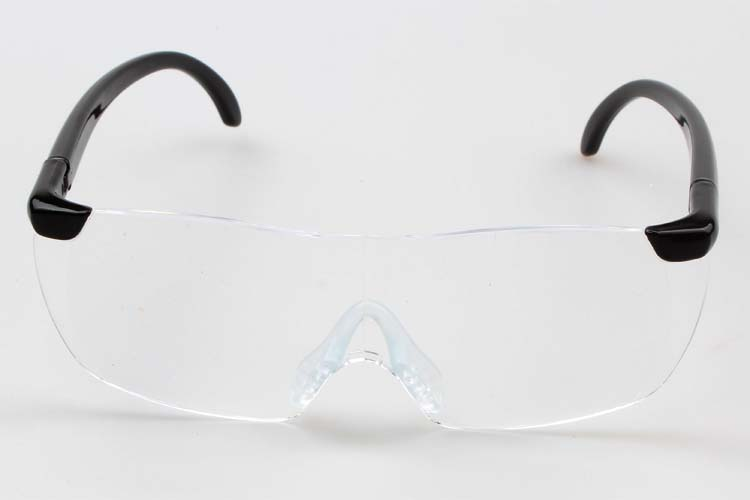 Plastic glasses 250 /160 degrees Magnifying Eyewear Magnifiers glass Magnifier