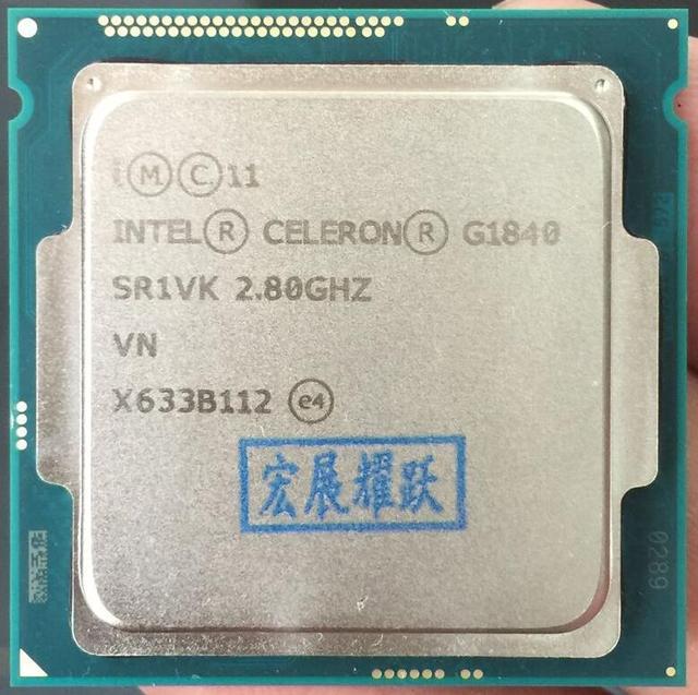 Процессор Intel Celeron G1840 (2 м Кэш, 2,80 ГГц) LGA1150 Dual-Core 100% работает должным образом настольный процессор