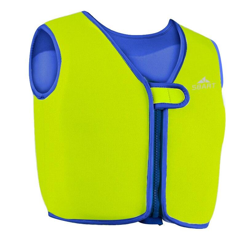 Hospitable Kids Life Vest Neoprene Life Jacket For Swimming Green Girls Boys Children Safety Swimwear Swimsuits Rapid Heat Dissipation
