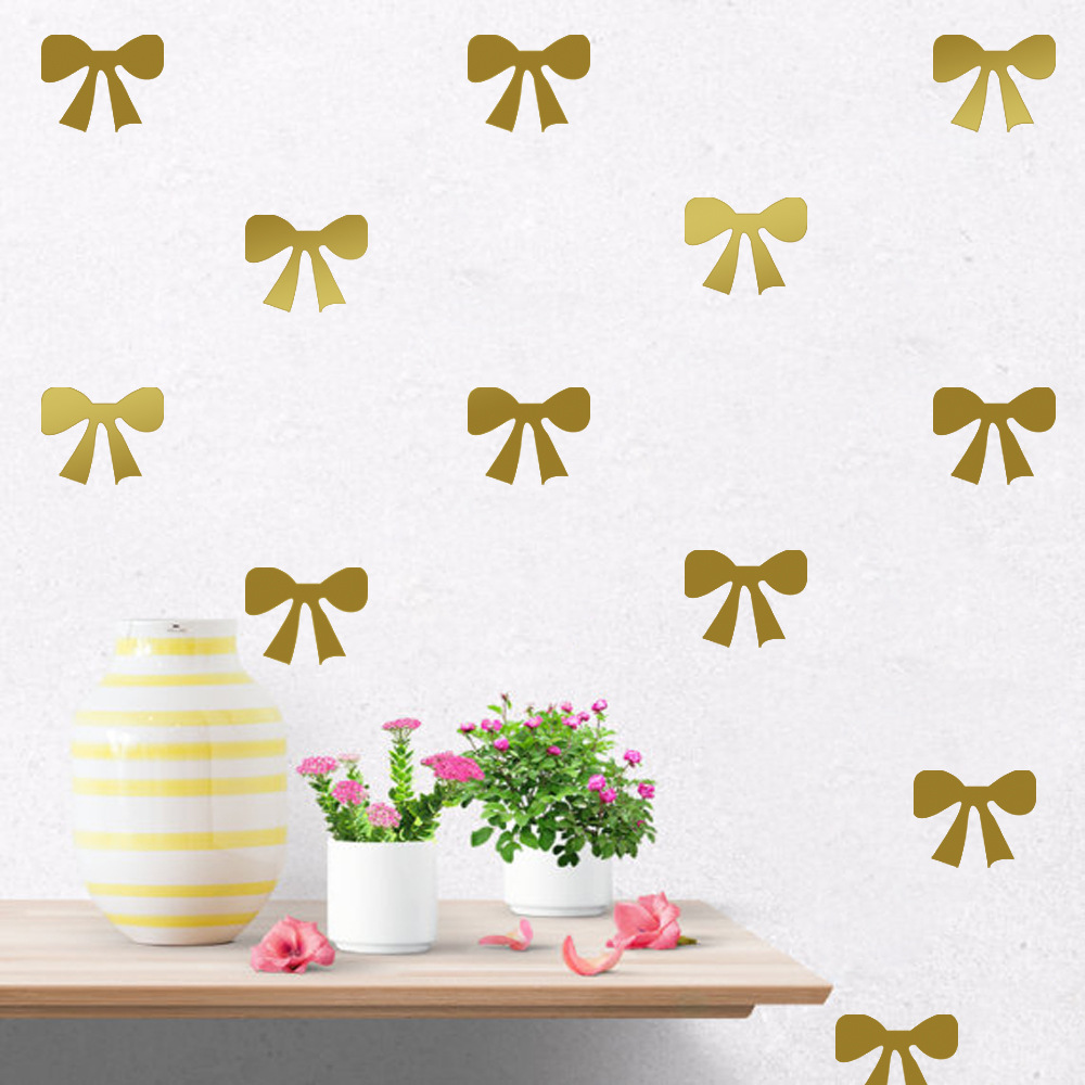 Diy ribbon bow wall stickers decals kids children room home diy ribbon bow wall stickers decals kids children room home decoration vinyl wall art stickers 6112408 in wall stickers from home garden on aliexpress amipublicfo Choice Image