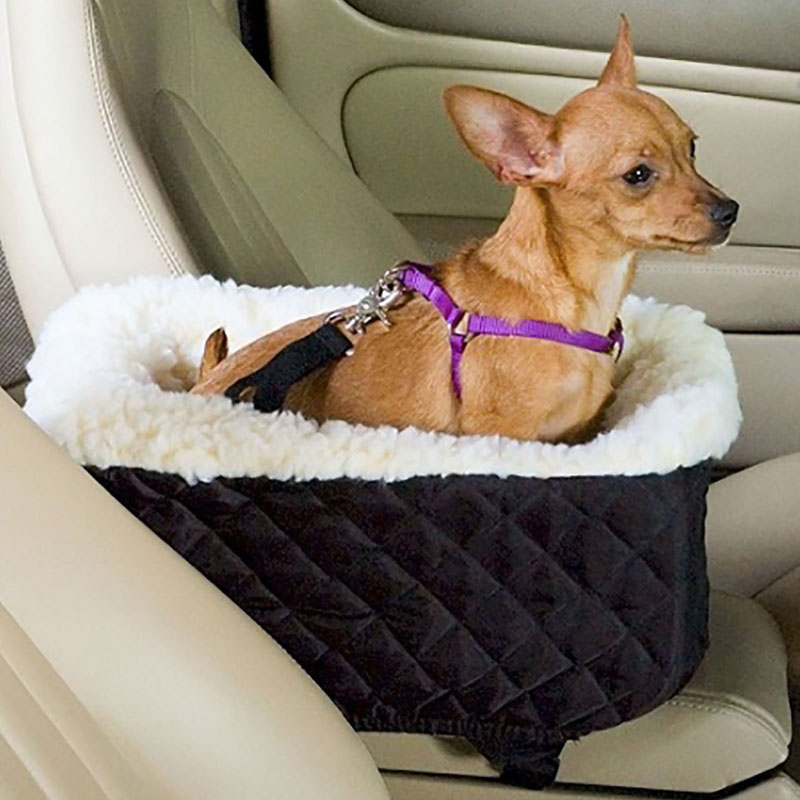 GLCC Dog Seat Covers for Cars Plus Thick Velvet Pet Back Bench Seat Travel For Small Medium Large Pet