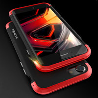 New Luxury For IPhone 6 Case 360 Full Protection 3in1 Aluminum Metal PC Hard Hybrid Slim