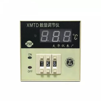 Industrious Xmtd-3001 Xmtd-3002 220v Ac K Type/e Type/pt100 Temperature Controller,0-399c Led Digital Display Control Meter High Quality Temperature Instruments