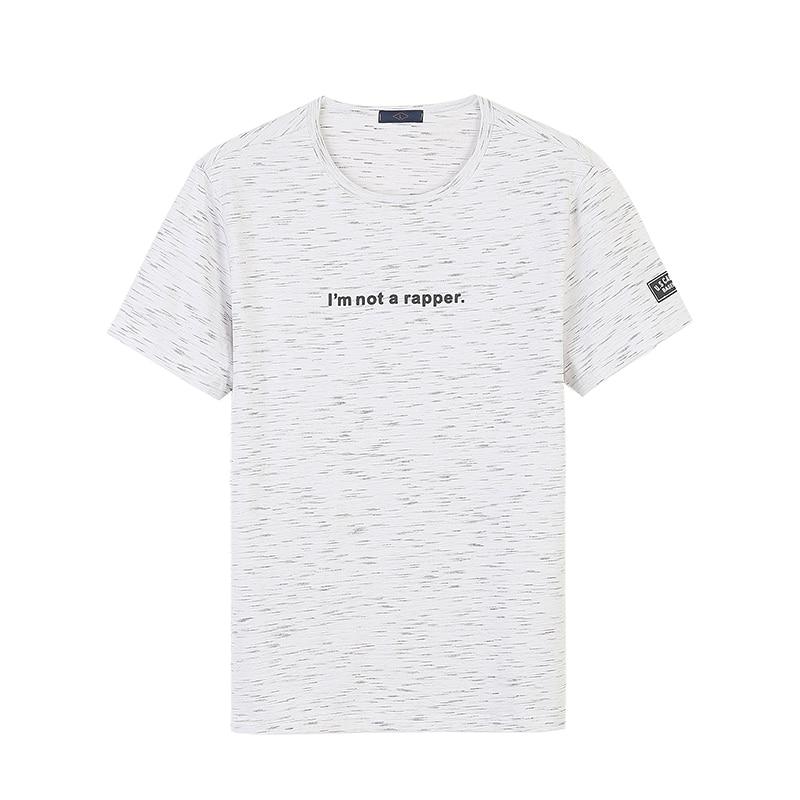 Nisexper Для мужчин брендовая одежда человек метеорный поток печатных футболки хлопковые футболки Для мужчин s футболка Для мужчин летняя футб...