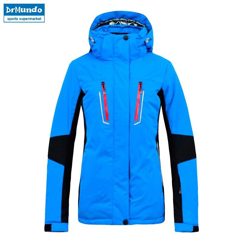 2018 New Brand Ski Jacket Women Windproof Waterproof Warm Winter Jackets Outdoor Sport Snow Coat Skiing Snowboarding Clothing