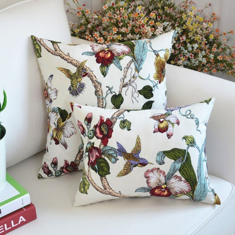 New Cushion Cover Print Modern Style Pillowcase For Home Decoration Sofa Decorative Ornamental Pillow Cover Accept Drop Shipping in Cushion Cover from Home Garden