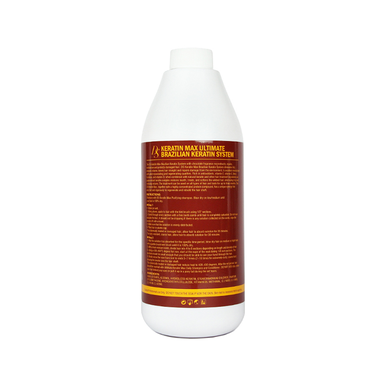 Nuevos productos más vendidos profesional 12% Formalin tratamiento de queratina brasileña enderezar el olor del Chocolate del pelo muy resistente-in Tratamientos de cuero cabelludo y cabello from Belleza y salud    2