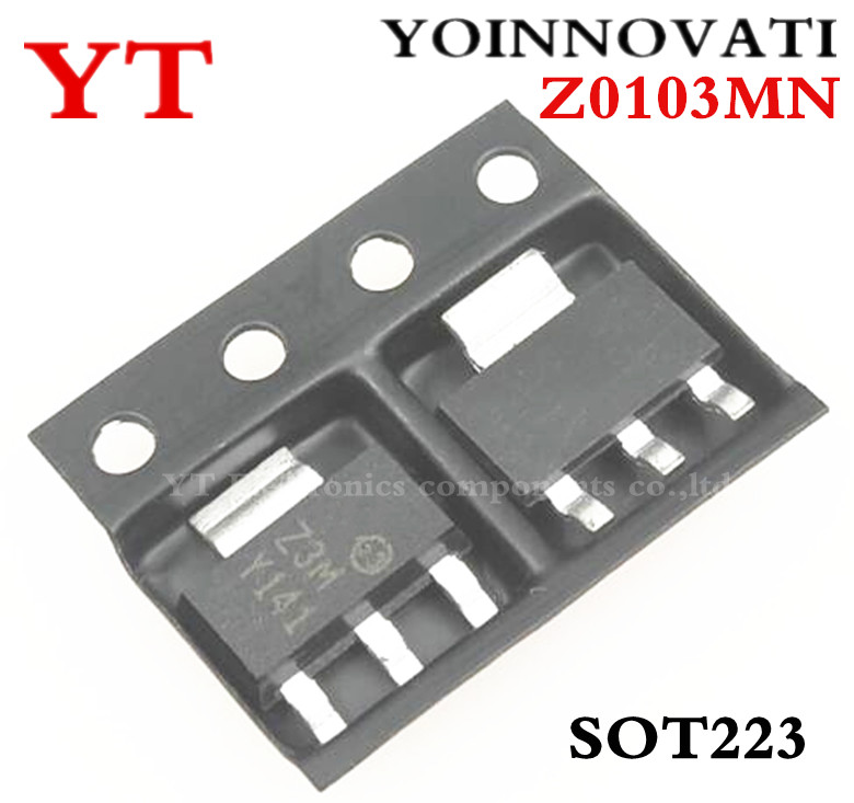 Free shipping 10pcs/lot Z0103MN <font><b>Z0103</b></font> Z3M SOT223 IC Best quality image