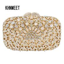 2017 neue Kupplung Abendtasche Kristall Diamant Frauen Geldbörse Luxus Hochzeit braut Prom soiree Handtasche Tasche weibliche pochette SC566