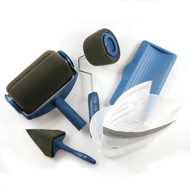 peinture coureur pro rouleau brosse poign e outil floqu d ligneuse bureau chambre peinture. Black Bedroom Furniture Sets. Home Design Ideas