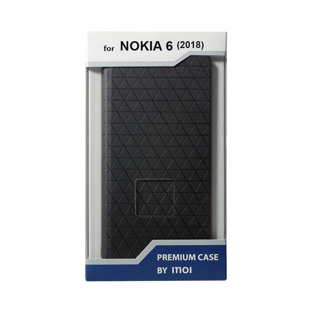 Mobile Phone Bags & Cases INOI Premium wallet case for Nokia 6.1 2018, PU playstation console bifold pu wallet dft 10096