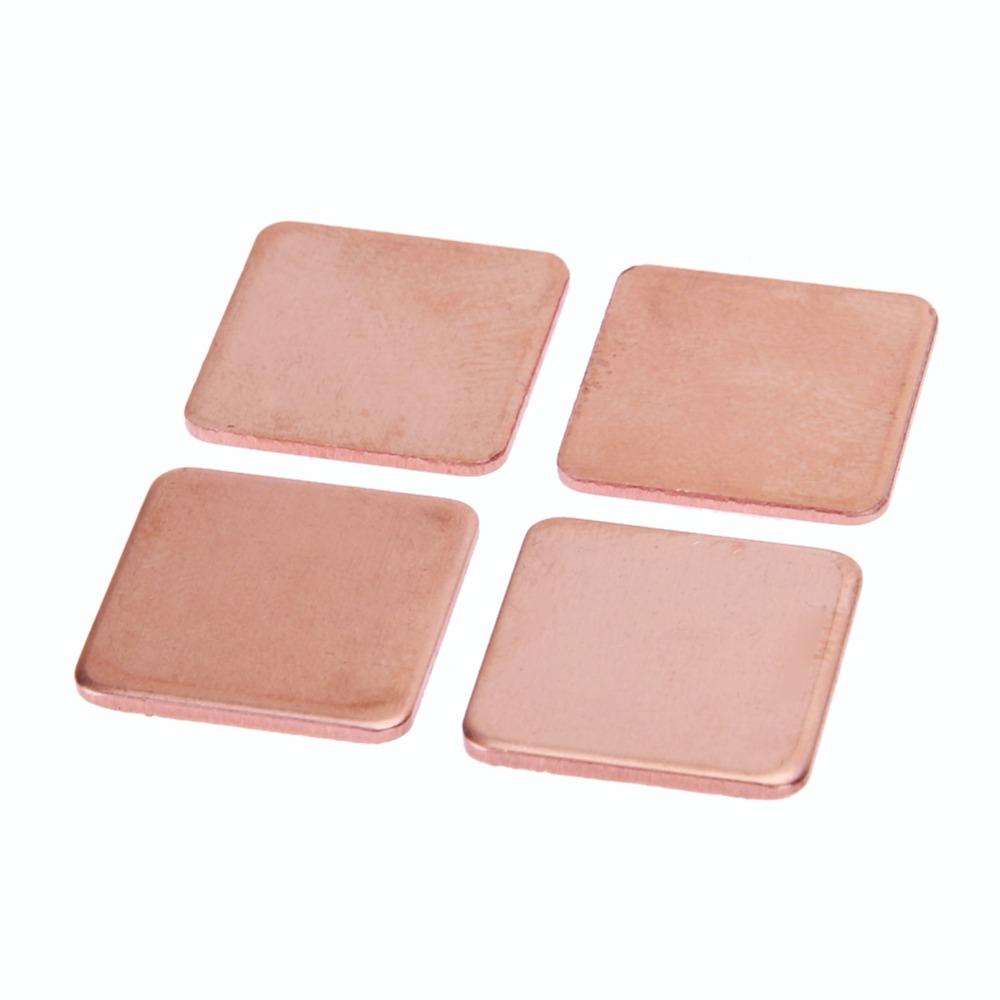 10 Pieces Pure Copper Heatsink Shim 1