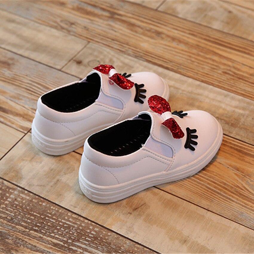 BOKEN Meisjes Koreaanse Princess Bow Casual enkele schoenen Big / - Kinderschoenen - Foto 5