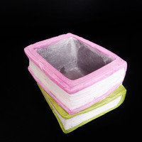 DIY Creative 3D Book Craft Clay Mould Concrete flower pot Silicone Mold for Home Desktop Decorating