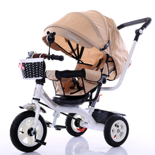 Russian baby stroller is the latest luxury three-wheeled baby stroller 2017
